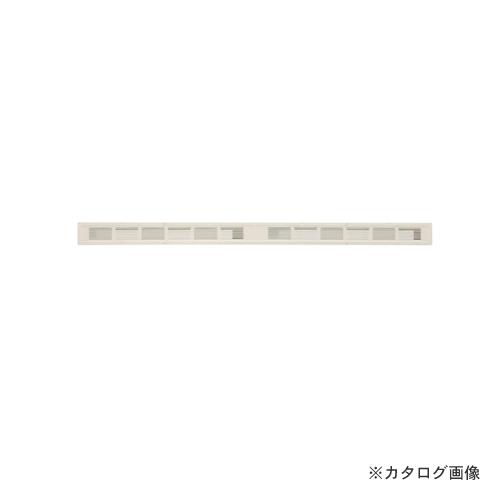 カネシン フャイヤーストップ45換気口 ロングタイプ アイボリー (10台入) ダンパー付 SS-90-FD