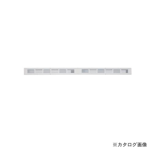 カネシン フャイヤーストップ45換気口 ロングタイプ ホワイト(10台入) ダンパー付 SS-90-FD