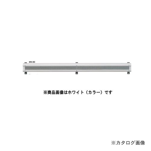 """カネシン 軒裏換気口""""見切タイプ""""ブラック (10台入) MN-90"""