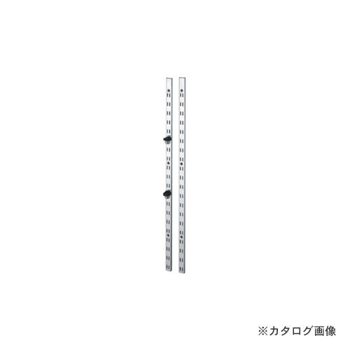 【運賃見積り】【直送品】カネシン ステンレス棚柱 (80本入) SPH-1820