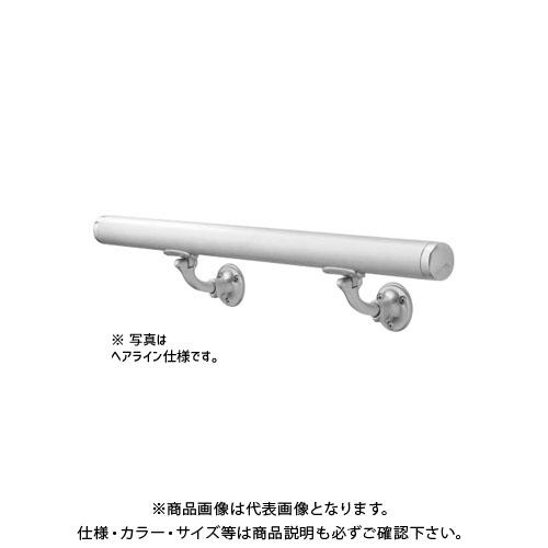 【運賃見積り】【直送品】浅野金属工業 ASANO 壁付用手摺 φ32×3000L L型自在木ネジ 鏡面 AK43910M-30