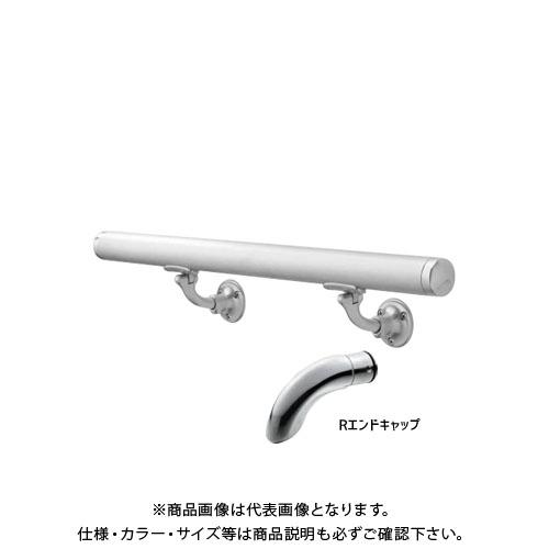 超人気新品 L型自在木ネジ Rエンド 【運賃見積り】【直送品】浅野金属工業 AK43911M-40R:KanamonoYaSan φ34×4000L ASANO KYS 壁付用手摺 鏡面 -木材・建築資材・設備