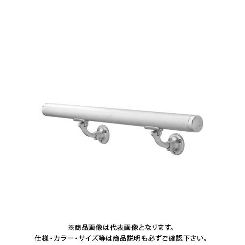 【12/5限定 ストアポイント5倍】【運賃見積り】【直送品】浅野金属工業 ASANO 壁付用手摺 φ38×3000L L型自在木ネジ 鏡面 AK43913M-30