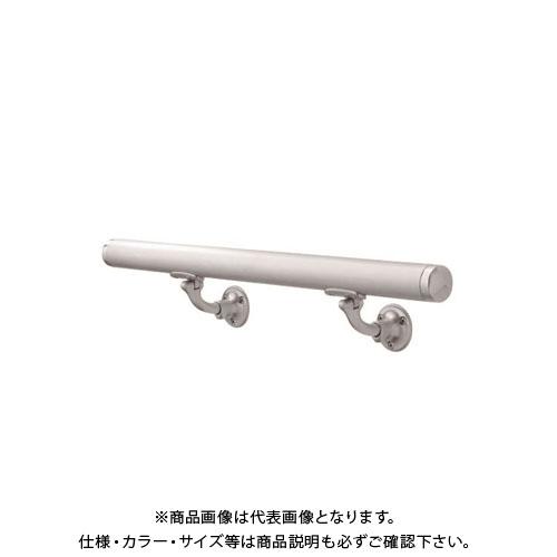 【運賃見積り】【直送品】浅野金属工業 ASANO 壁付用手摺 φ32×4000L L型自在木ネジ HL AK43910H-40