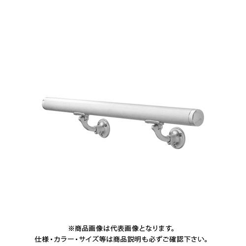 【12/5限定 ストアポイント5倍】【運賃見積り】【直送品】浅野金属工業 ASANO 壁付用手摺 φ34×2000L L型自在木ネジ HL AK43911H-20