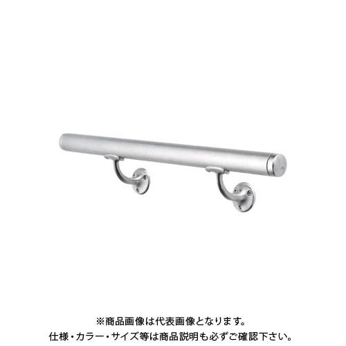 【運賃見積り】【直送品】浅野金属工業 ASANO 壁付用手摺 φ32×4000L L型木ネジ 鏡面 AK43920M-40