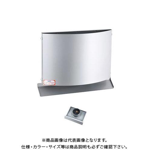 宇佐美工業 W型フード付ガラリ 防火ダンパー付 φ100 ブラック (12ヶ入) WEV100BFD-BK
