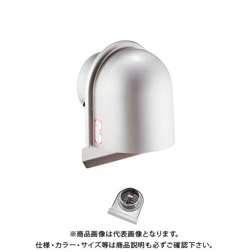 宇佐美工業 U型フード付ガラリ 溶接組立式 防火ダンパー付 φ100 ヘアーライン (24ヶ入) UZEV100SFD-HL