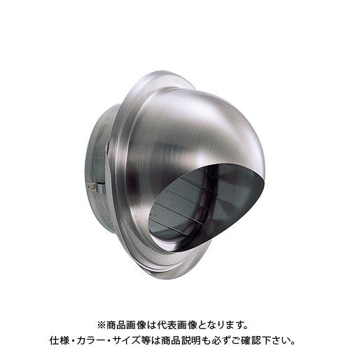 宇佐美工業 丸型フード水切付ガラリ(ビス脱着式) φ100 ヘアーライン (24ヶ入) GZEV100B-HL