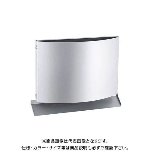 宇佐美工業 W型フード付ガラリ 上下開口型 φ100 ホワイト (12ヶ入) WEN100B-WH