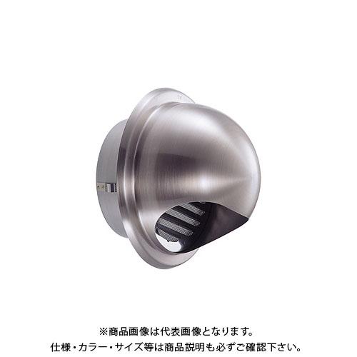 宇佐美工業 丸型フード付ガラリ 溶接組立式(自然給排気スタンダードタイプ) φ125 ヘアーライン (24ヶ入) GSN125S-HL