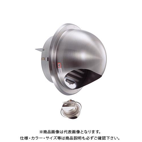 宇佐美工業 丸型フード付ガラリ 溶接組立式(自然給排気スタンダードタイプ)防火ダンパー付 φ75 ブラック (60ヶ入) GSN75SHD-BK