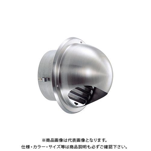 宇佐美工業 丸型フード付ガラリ(ビス脱着式) φ150 ヘアーライン (12ヶ入) GBN150B-HL