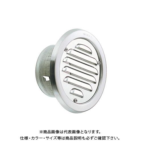 宇佐美工業 丸型ガラリ・クーラーキャップ兼用(ビス脱着式) φ75 電解研磨処理 (72ヶ入) SCN75B-DK