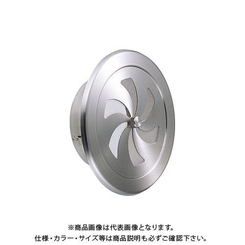 宇佐美工業 内壁用丸型レジスター 溶接組立式 φ75 ヘアーライン (60ヶ入) RN75S-HL