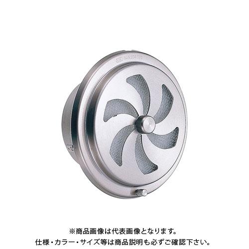 宇佐美工業 内壁用丸型レジスターフィルター付 ワンタッチ取外式 ヘアーライン (24ヶ入) RN100YF-HL