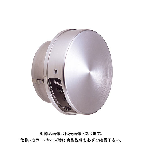 宇佐美工業 フラット型フード付ガラリ 溶接組立式 金網(メッシュ)12M φ100 (36ヶ入) 100F-XMBL