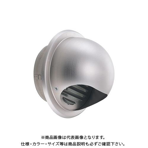 宇佐美工業 丸型フード付ガラリ 溶接組立式 φ125 (24ヶ入) 125G-XOBL