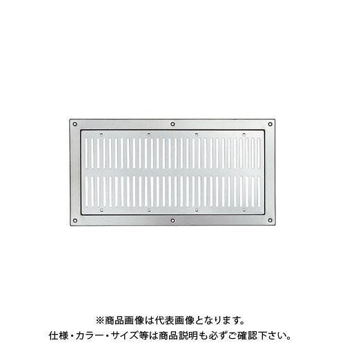 宇佐美工業 チタン製 軒天換気孔 萩 防火ダンパー付(塩害対策推奨品) チタン生地 (10×2入) ND1044-TI