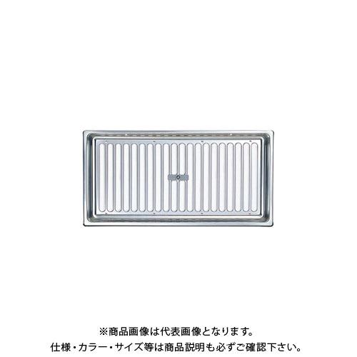 宇佐美工業 床下換気口 蘭 ボックスタイプ リフォーム住宅推奨品(後付施工)スライド式 シルバー (10×2入) YRS1545-SM