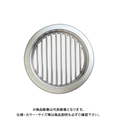 宇佐美工業 床下換気口 杉 丸型ボックス(後付施工) シルバー (15×2入) YOM200-SM