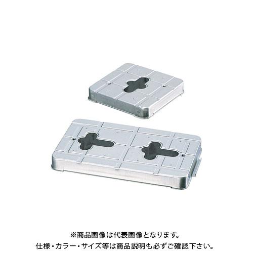 宇佐美工業 床下換気口 PP.CaCO3 複合基礎パッキン 100×100 (60入) YP1010-SU