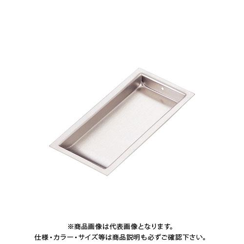 宇佐美工業 フラッシュ用 戸引手 SUS304 75mm ブロンズ塗装 (100×10入)