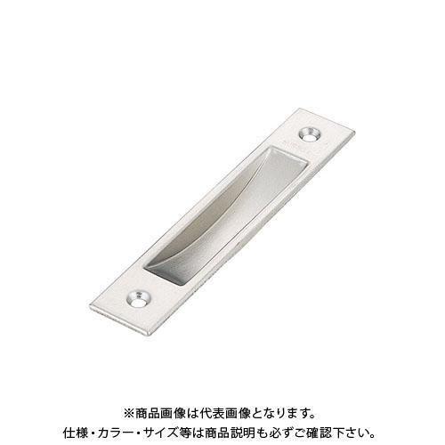 宇佐美工業 アルミ建具用 戸引手 SUS304 105mm ブロンズ塗装 (50×20入)