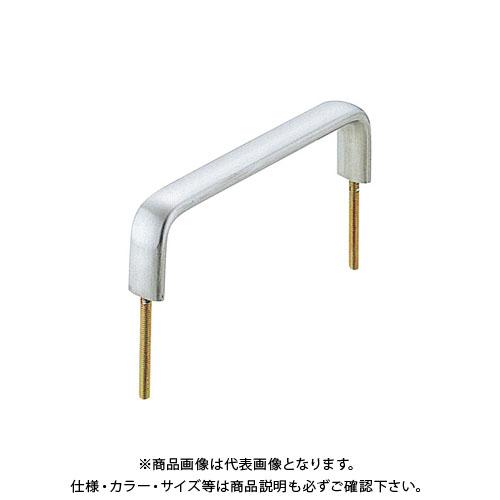 宇佐美工業 座無し ミラーハンドル家具用 SUS303 大 鏡面 (20×20入) 大