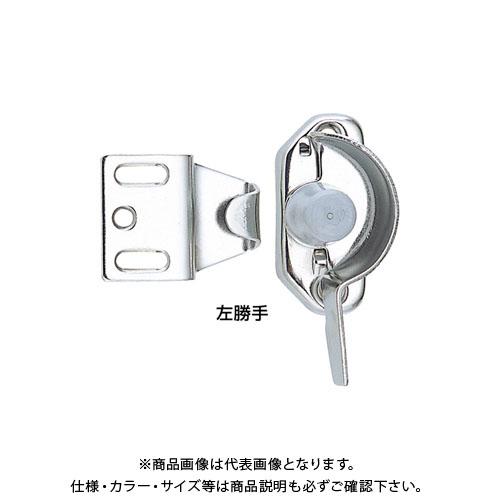 【12/5限定 ストアポイント5倍】宇佐美工業 クレセント SUS304 木製用 左 シルバー (20×15入)
