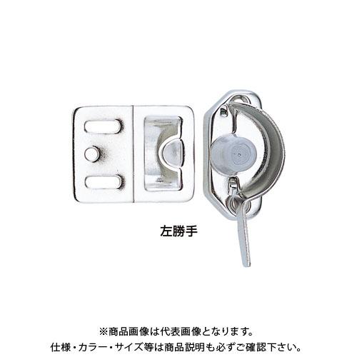 宇佐美工業 クレセント SUS304 アルミ建具用 左 シルバー (20×15入)