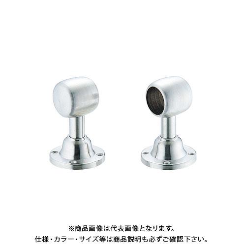 宇佐美工業 D型ブラケット首長タイプ 通し SUS304 25mm (20×5入)