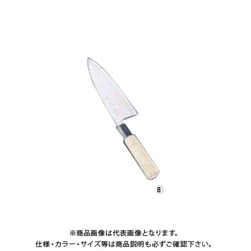 TKG 遠藤商事 SA佐文 銀三鏡面仕上 出刃 18cm ASB40018 7-0279-0801