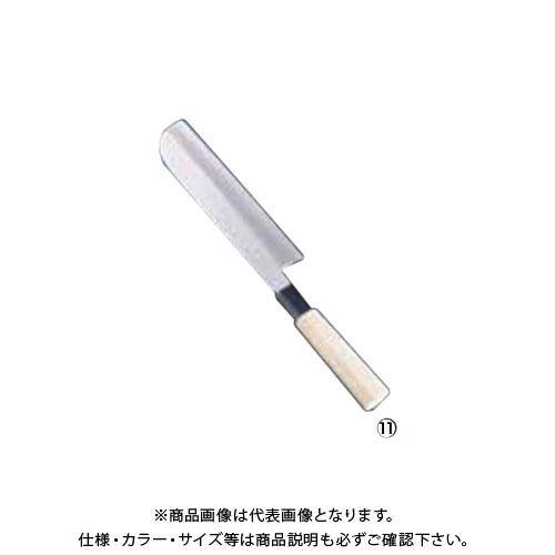 TKG 遠藤商事 SA佐文 銀三鏡面仕上 鎌型薄刃 18cm ASB43018 7-0279-1101