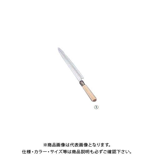 TKG 遠藤商事 SA佐文 柳刃(木製サヤ付) 27cm ASB10027 7-0280-0102