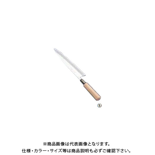 TKG 遠藤商事 SA佐文 身卸(木製サヤ付) 24cm ASB14024 7-0280-0503