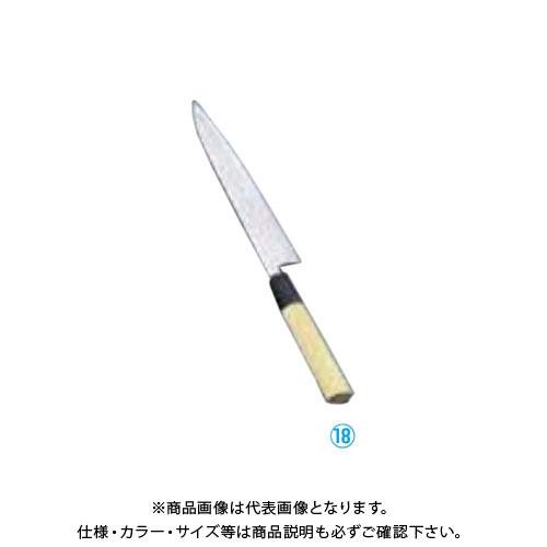TKG 遠藤商事 堺實光 匠練銀三 和ペティ(両刃) 18cm 37631 AZT4202 7-0281-1802