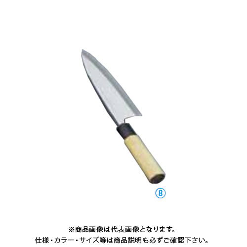 TKG 遠藤商事 堺實光 上作 出刃(片刃) 12cm 17530 AZT2901 7-0282-0801