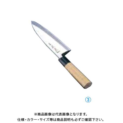 TKG 遠藤商事 正本 本霞・玉白鋼 出刃庖丁 21cm AMS40021 7-0283-0308