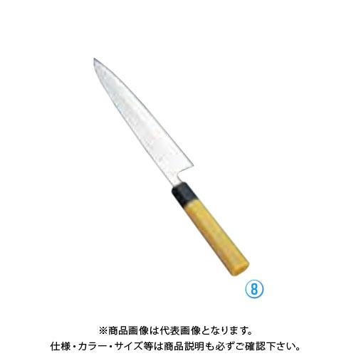 TKG 遠藤商事 堺孝行 モリブデン鋼 PC柄 身卸出刃 24cm ATK6101 7-0286-0801
