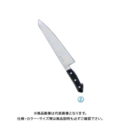 TKG 遠藤商事 堺菊守日本鋼(口金付)牛刀 27cm AKK5304 7-0296-0204