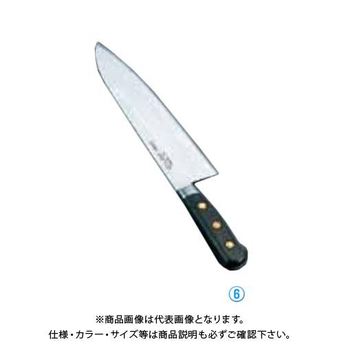 TKG 遠藤商事 ミソノ・スウェーデン鋼 洋出刃 No.152 24cm AMS08152 7-0293-0603