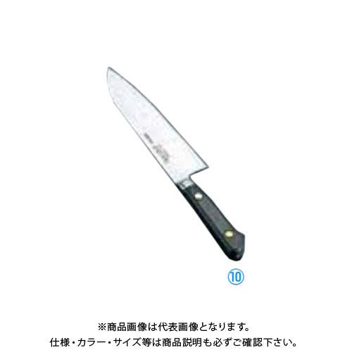 TKG 遠藤商事 ミソノ・スウェーデン鋼 三徳庖丁 No.181 18cm AMS87181 7-0293-1003