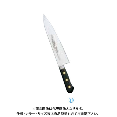 TKG 遠藤商事 ミソノ・スウェーデン鋼(龍彫刻入)牛刀 No.114M 27cm AMS12114 7-0293-1102