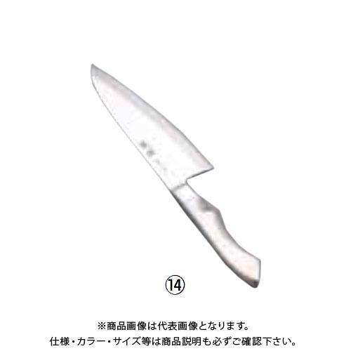 TKG 遠藤商事 TKG PRO(プロ)銀鱗 出刃(片刃) 15cm ATK9701 7-0312-1301
