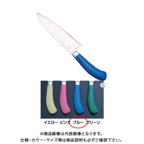 TKG 遠藤商事 エコクリーン TKG PRO 三徳庖丁 17.5cm ブルー AEK4903 6-0308-0303