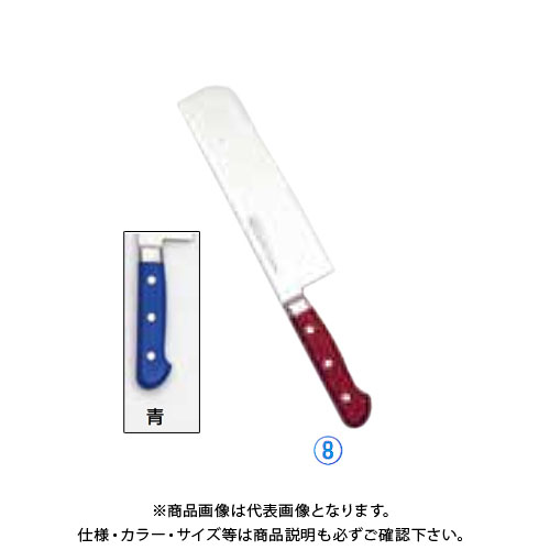 TKG 遠藤商事 堺實光 STD抗菌PC 菜切(両刃) 18cm 青 56025 AZT7402 7-0318-0802