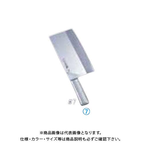 TKG 遠藤商事 ブライトM11Pチャイニーズシェフナイフ M1169 #7 ABL451 7-0321-0701