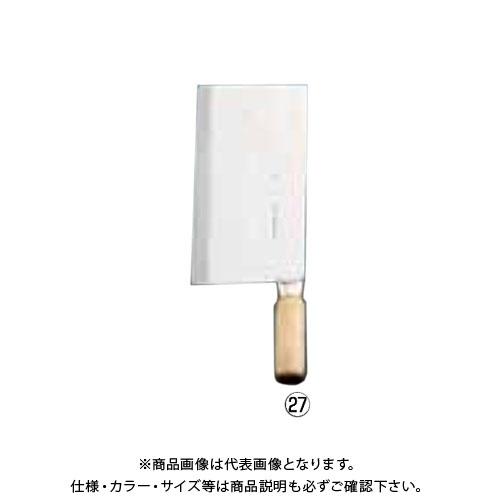 TKG 遠藤商事 キッチンチョッパー(文武刀2号) 陳枝記 中華庖丁 ATY65 6-0317-2701