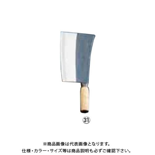 TKG 遠藤商事 クァウコンチョッパー(九江刀1号) 陳枝記 中華庖丁 ATY68 6-0317-3101